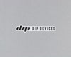 Dip Devices logo sticker black