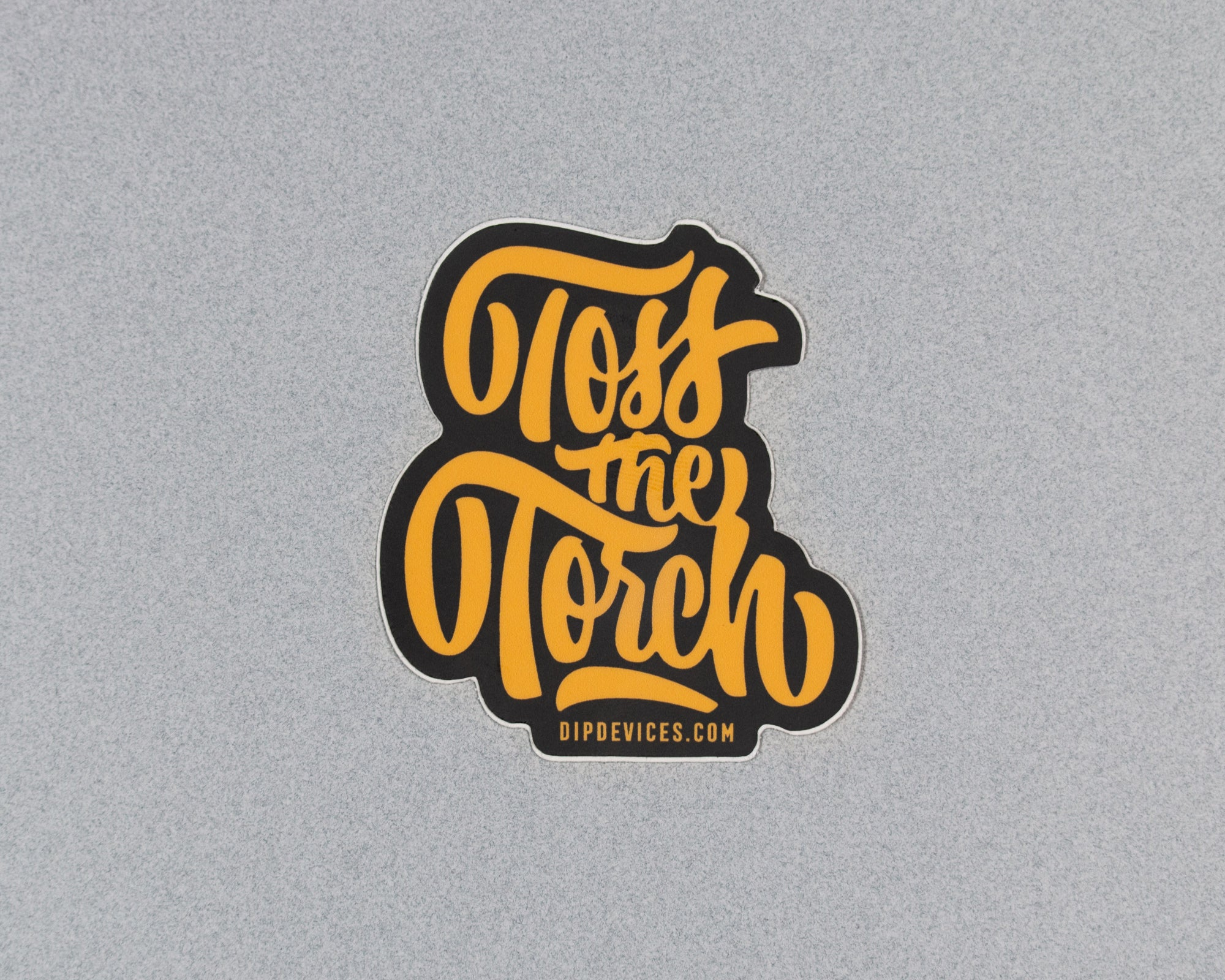 Toss the Torch sticker