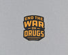 End the War on Drugs sticker