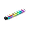 Dipper electric honey straw, rainbow side view