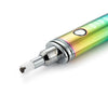 Dipper electric honey straw, rainbow close up