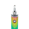 Dipper electric honey straw, rainbow front close up