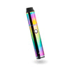 Dipper electric honey straw, rainbow front view