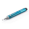 Dipper electric honey straw, blue side view