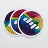 Dip Rainbow sticker