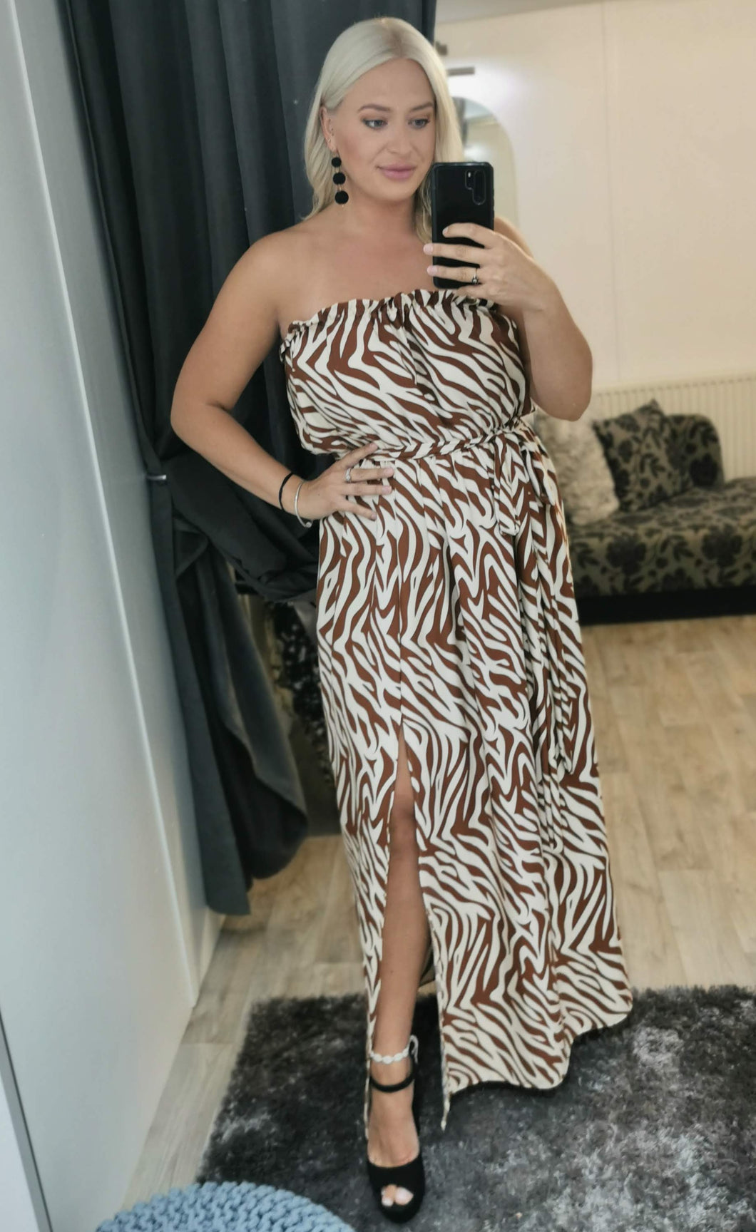Dolly Maxi Split Dress