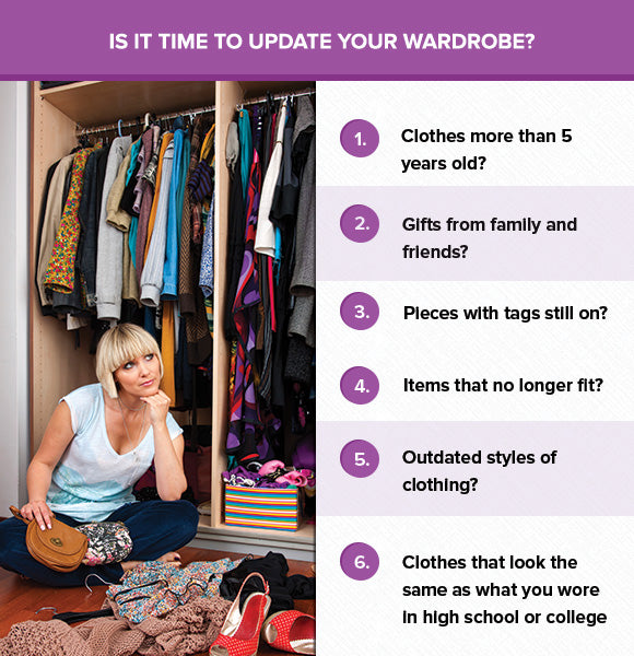 Is It Time to Update Your Clothes & Style?