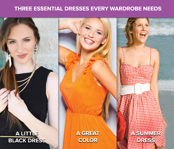 Three Essential Dresses Every Closet Needs
