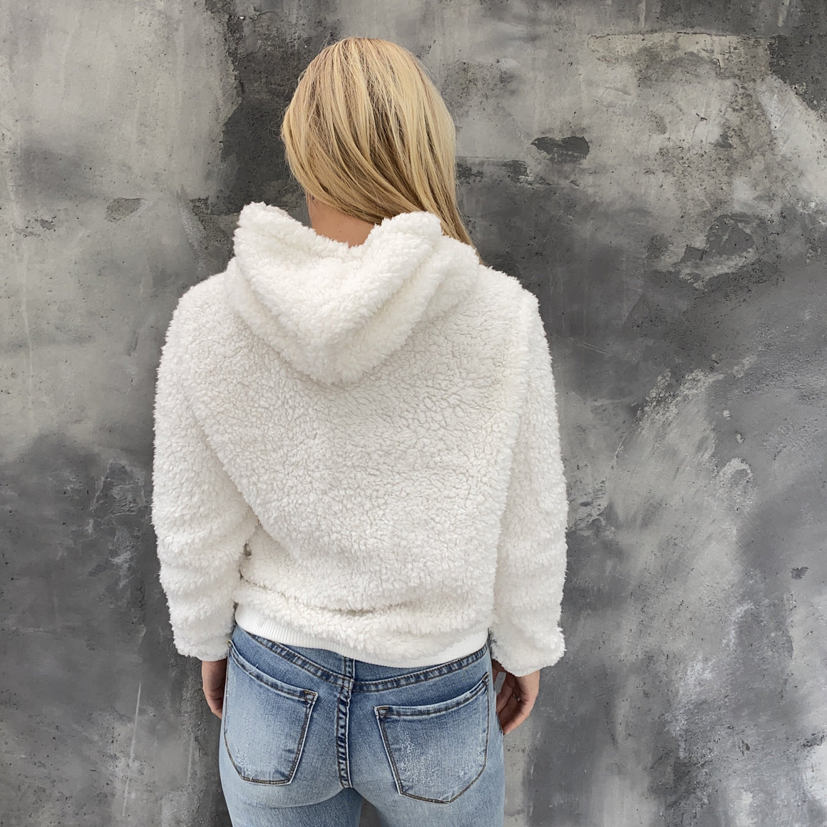 On Cloud Nine Ivory Hoodie Sweater