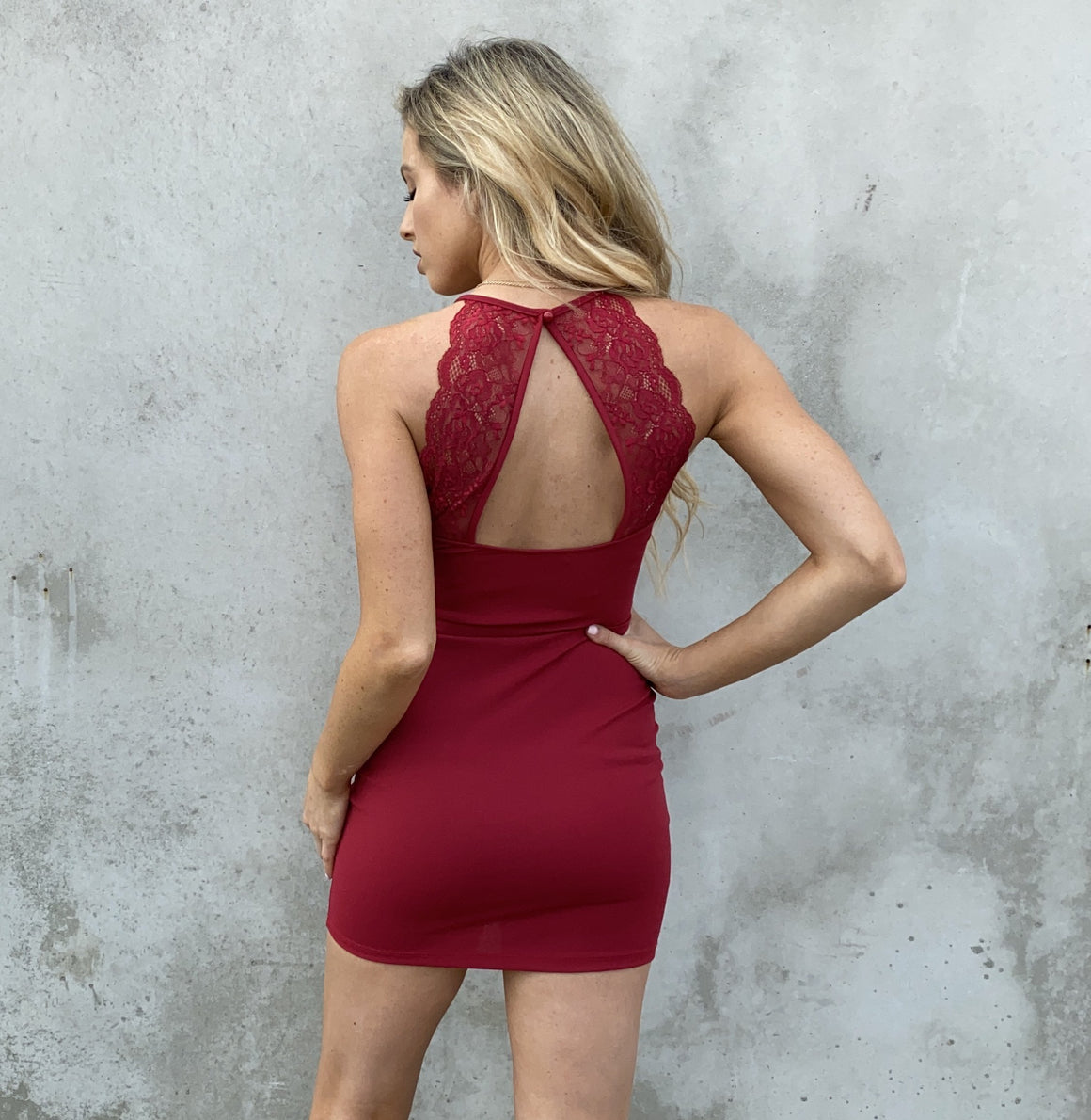 Adore You Dress in Red - Dainty Hooligan