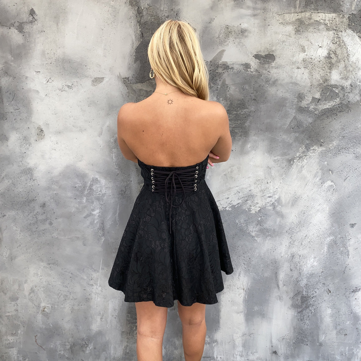 At Your Own Lace LBD