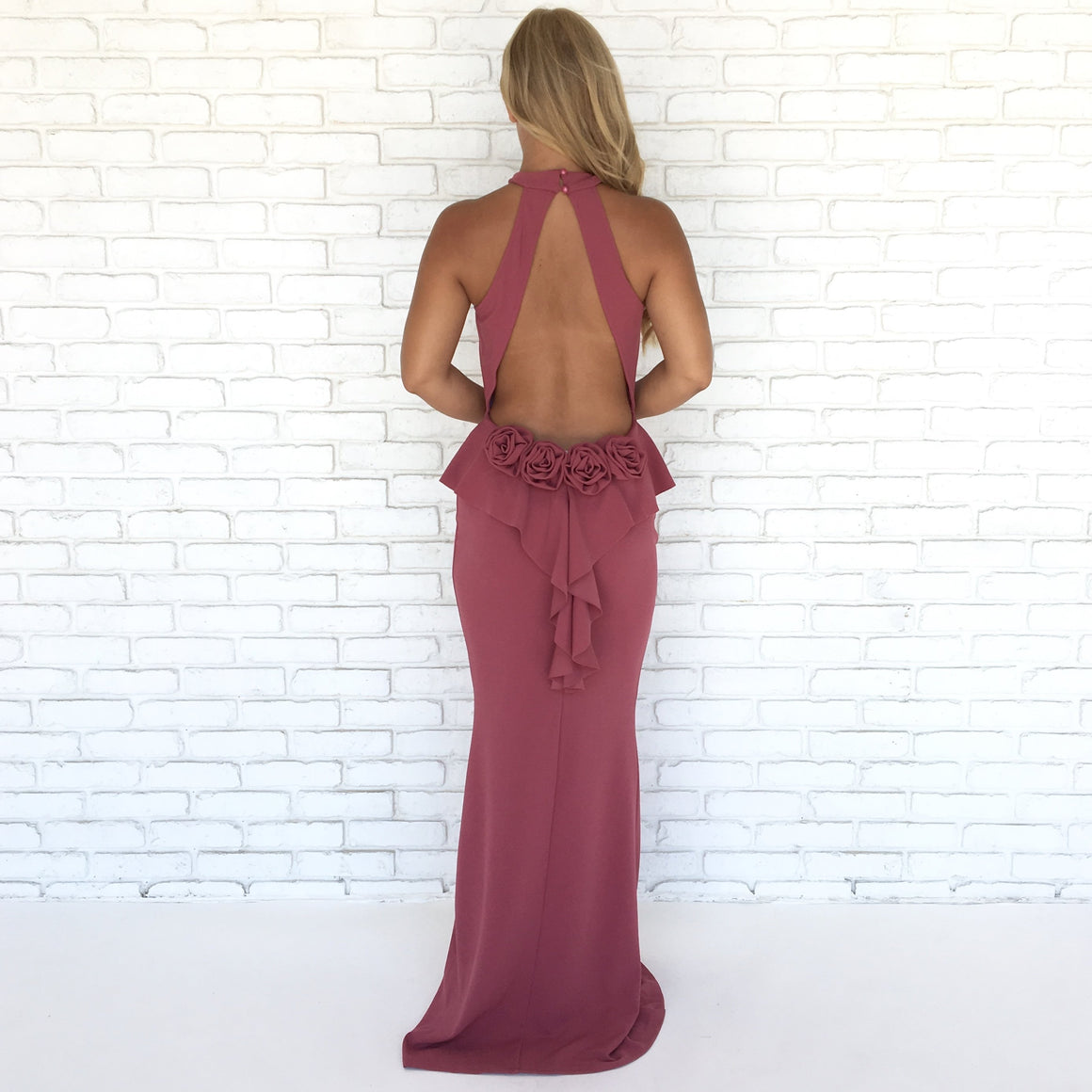 Will You Accept This Rose Maxi Dress in Rose Pink - Dainty Hooligan