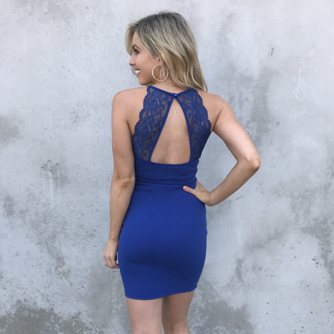 Adore You Dress in Blue - Dainty Hooligan