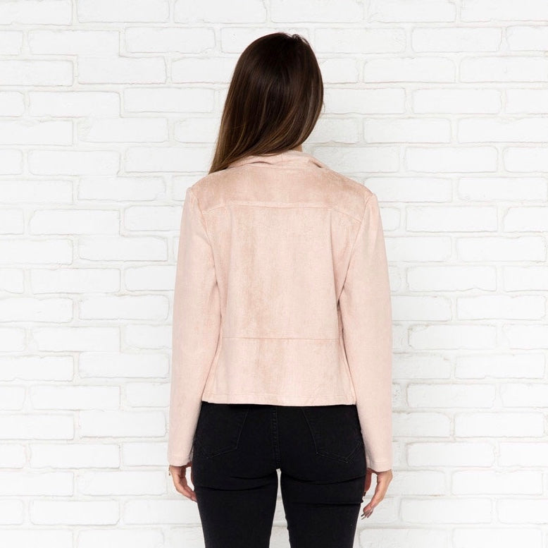 68e2f674da Adella Blazer in Mauve - Dainty Hooligan Boutique