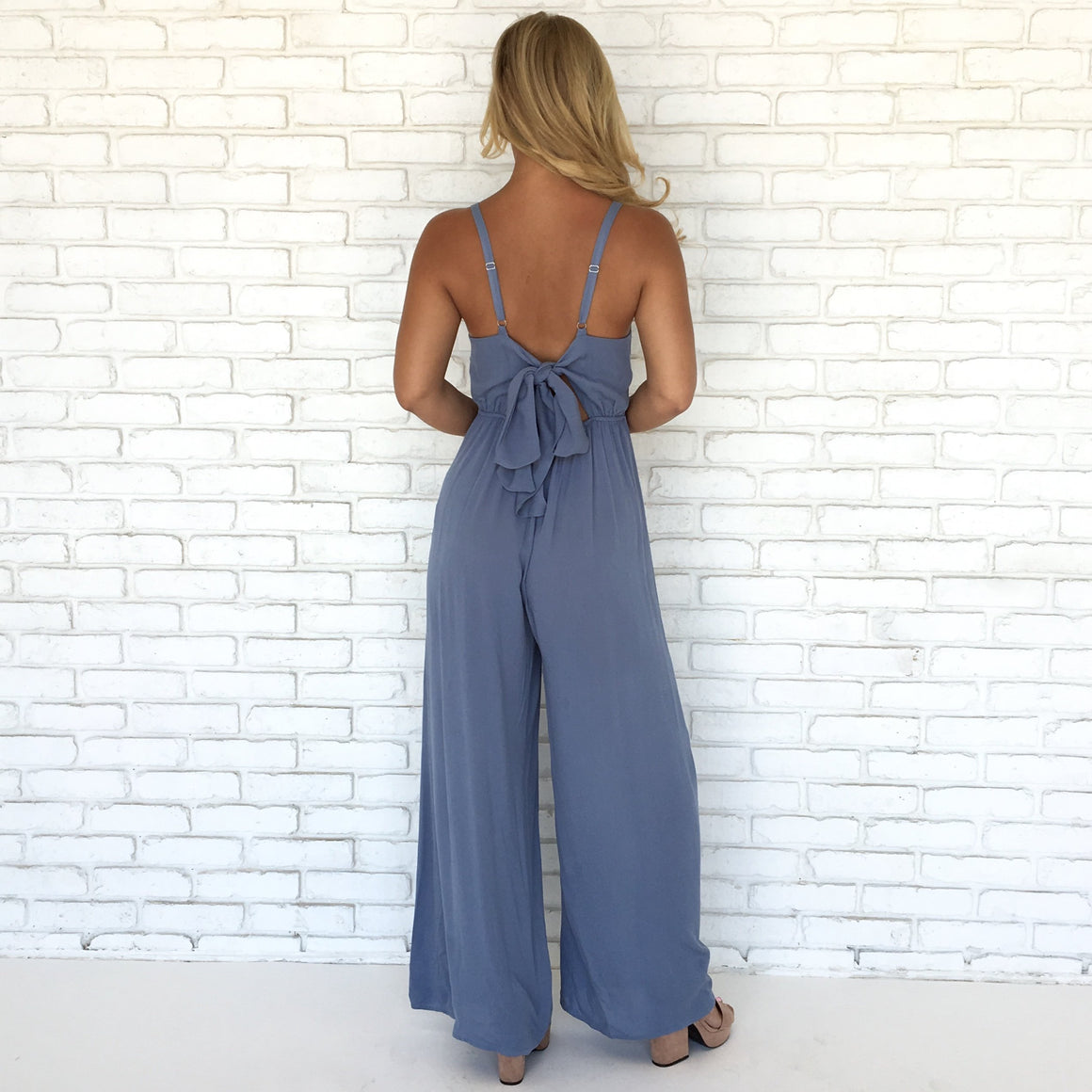 All About You Jumpsuit in Blue
