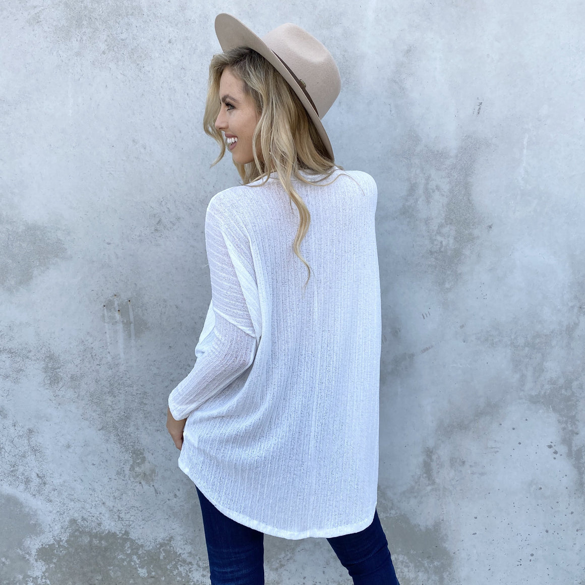 Pocketful Of Sunshine Knit Ivory Top - Dainty Hooligan