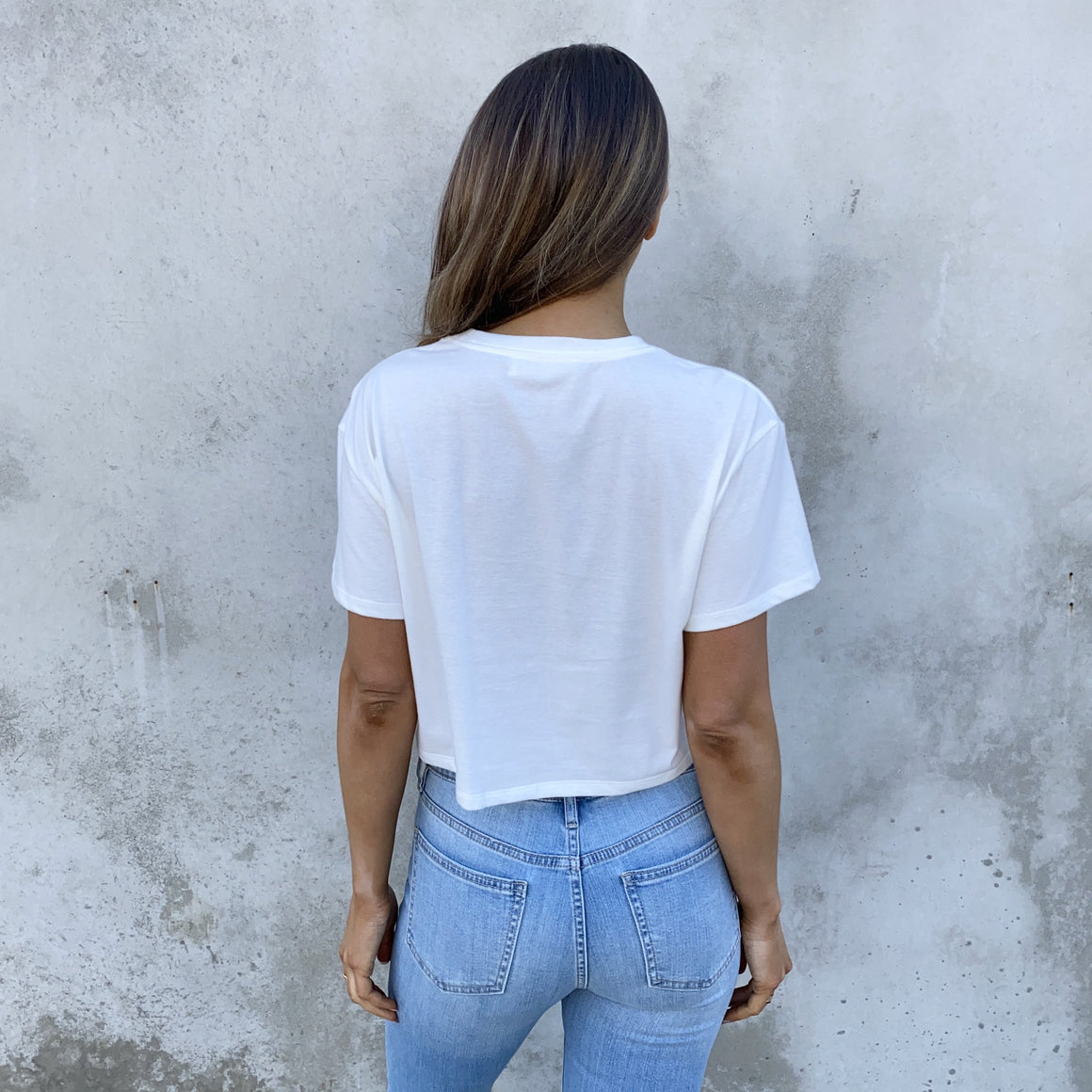 Last Touch White Crop Top - Dainty Hooligan
