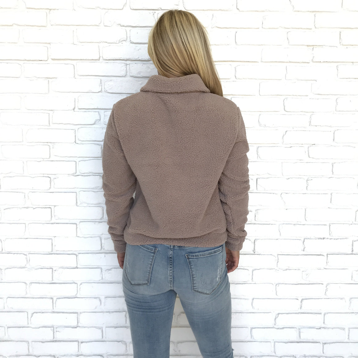 Aspen Nights Mocha Soft Sweater