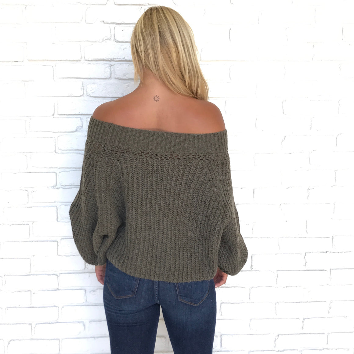 Baby It's Cold Out Side Knit Sweater