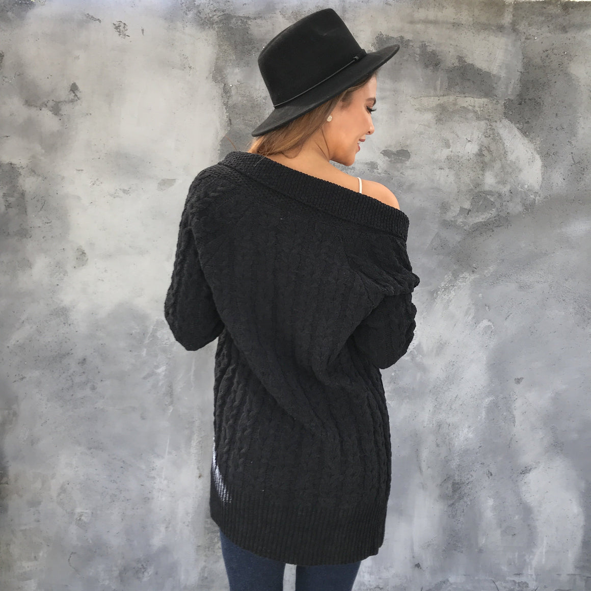 Crista Cable Knit Cardigan