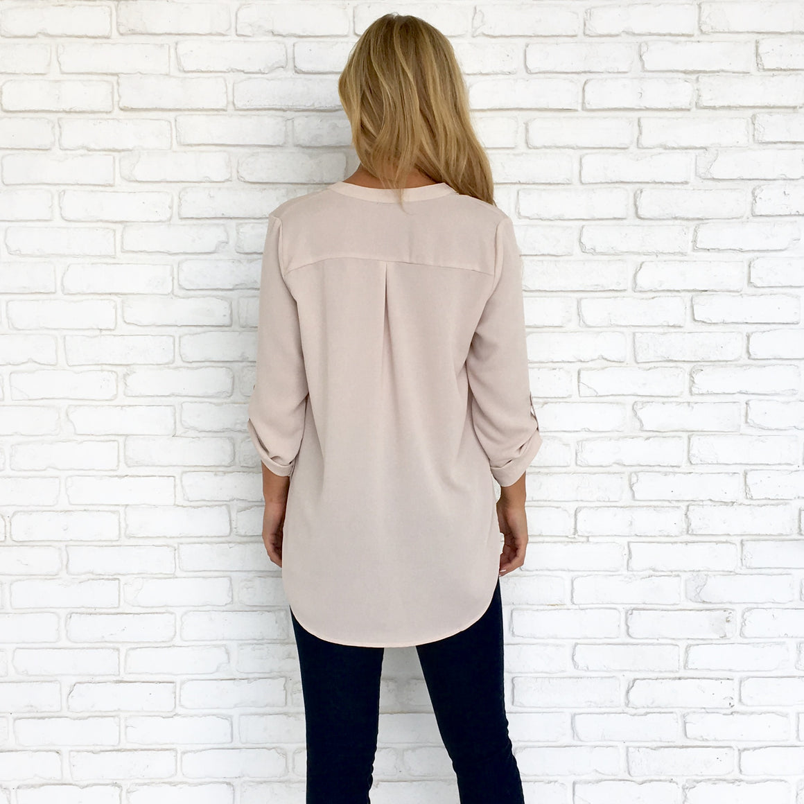 Nothing But Nude Blouse