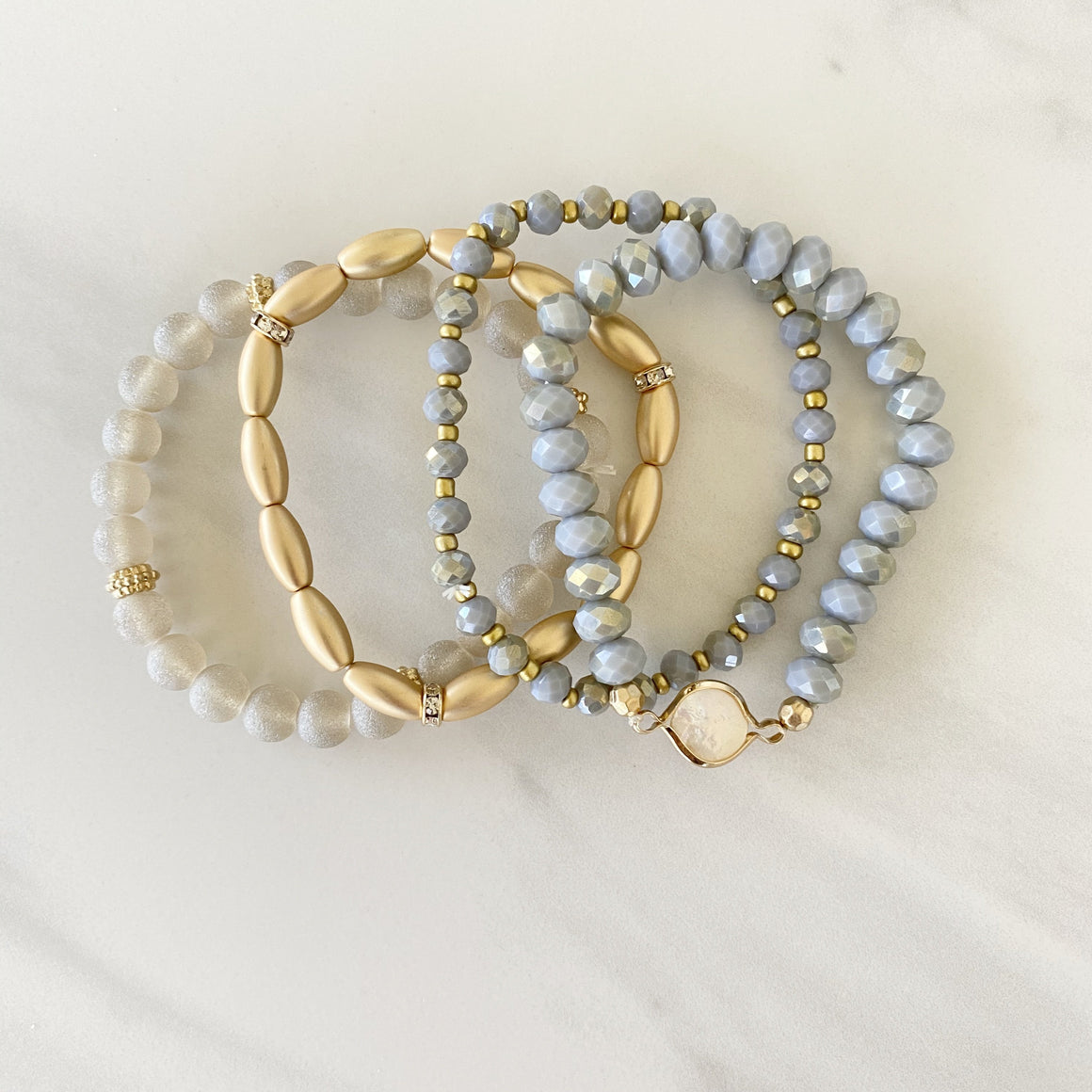 Up Your Game Stone Bracelet - Dainty Hooligan