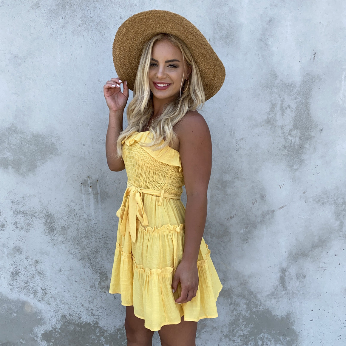 Forever Yours Marigold Shift Dress