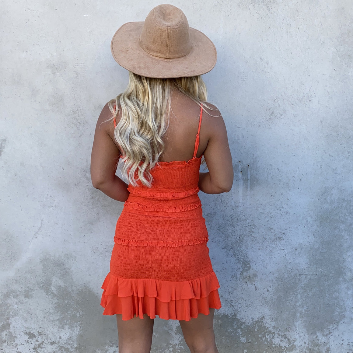 Sunset Blvd Ruffled Bodycon Dress - Dainty Hooligan