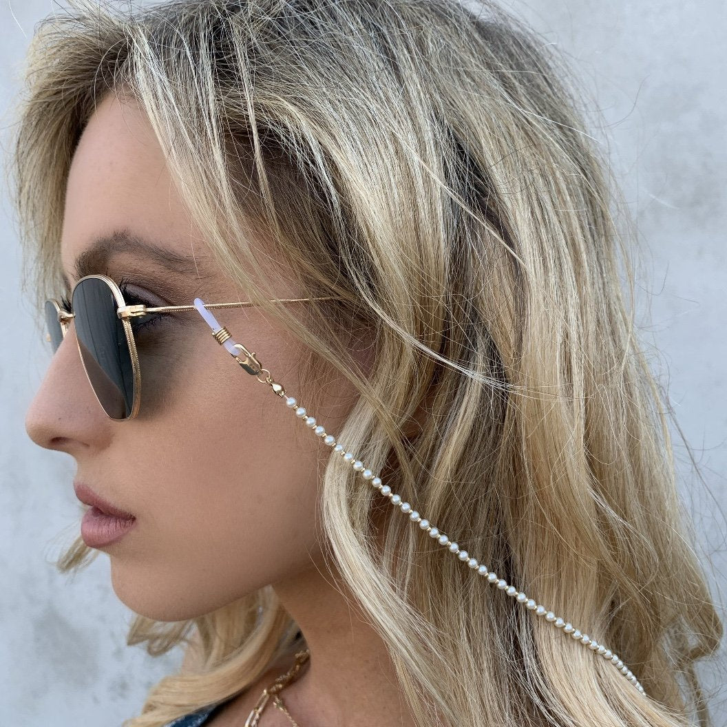 Pearl Sunglasses Chain - Dainty Hooligan