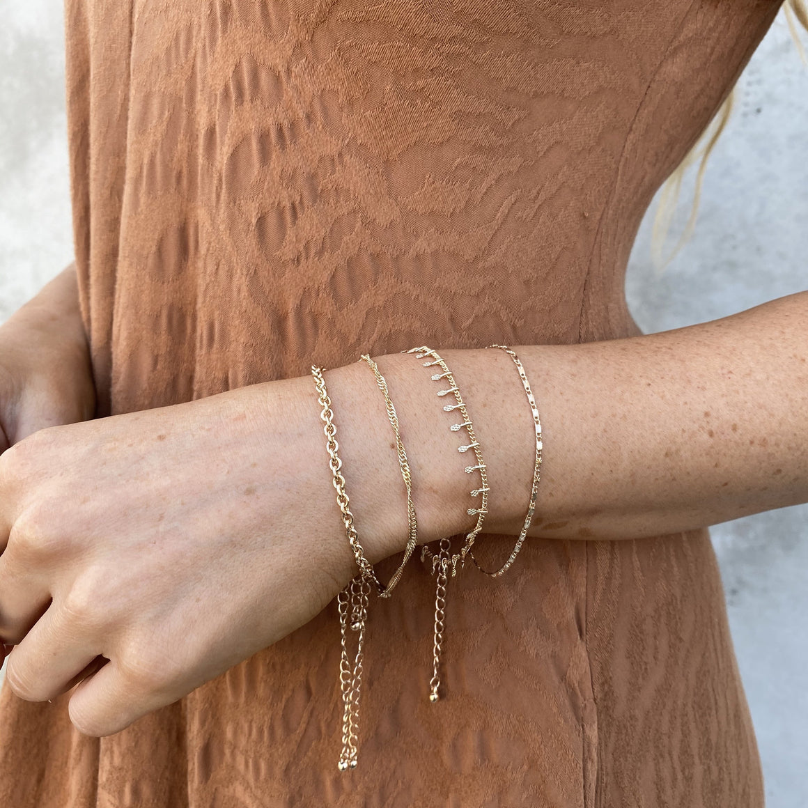 Endless Possibilities Gold Bracelet Set - Dainty Hooligan