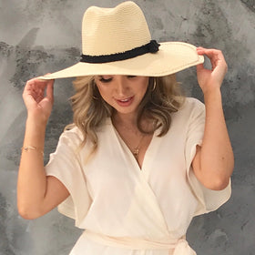 0f3f92cac0d Catch Some Rays Floppy Hat in Natural ...