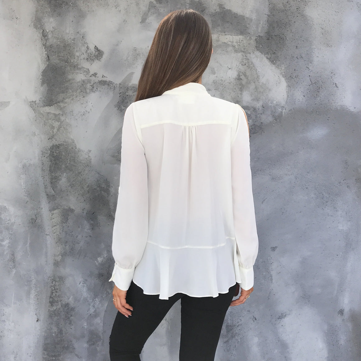 Tie The Knot Ivory Blouse - Dainty Hooligan