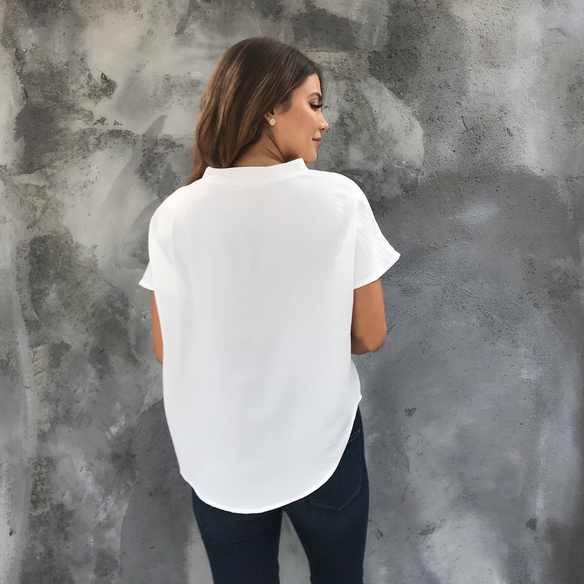 Sweet & Chic White Blouse - Dainty Hooligan