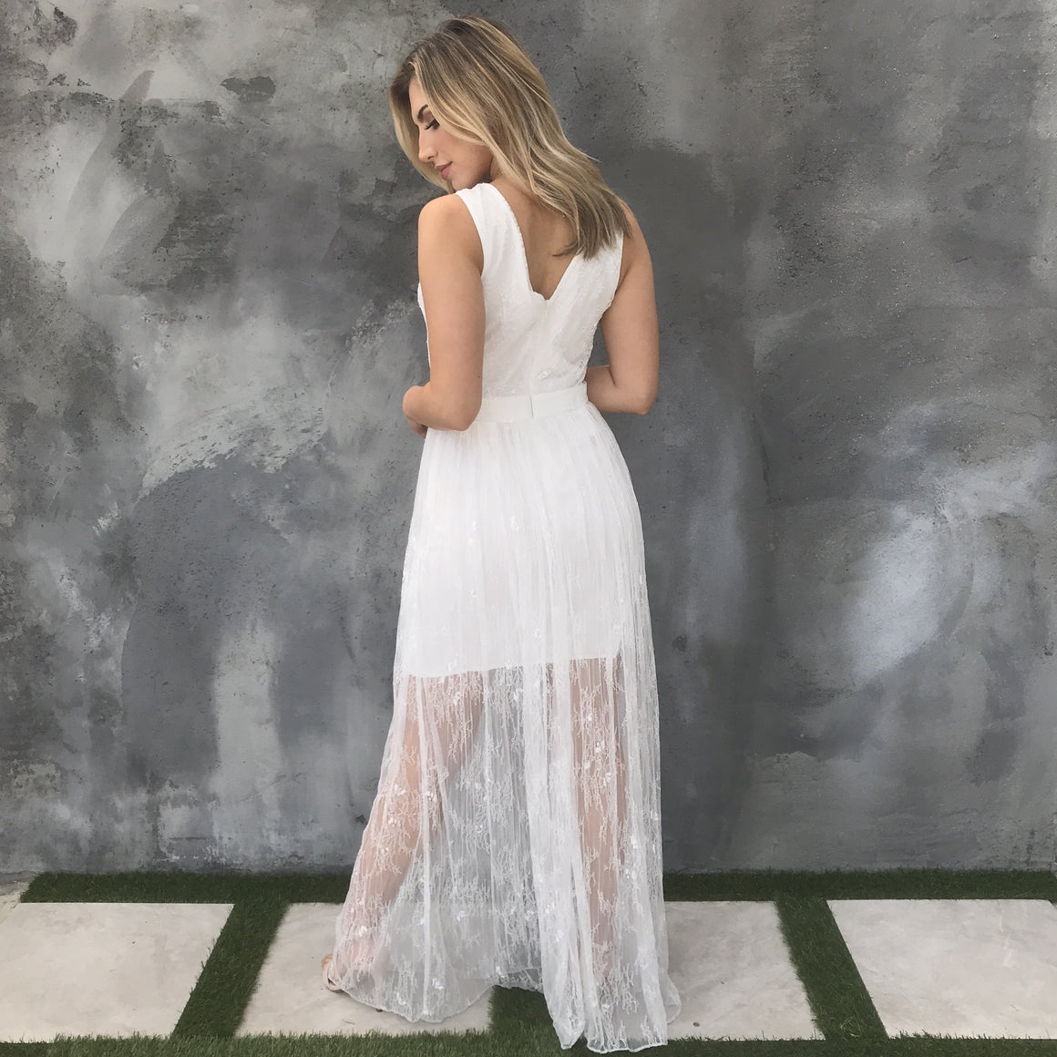 Maxi Dress in White
