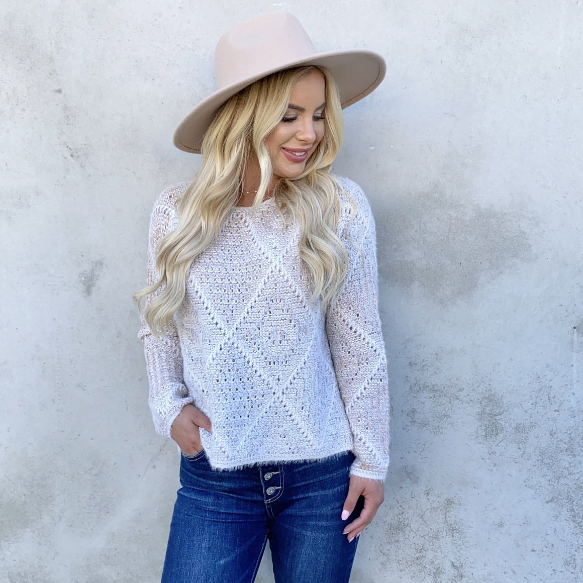 Next Level Knitted Sweater - Dainty Hooligan
