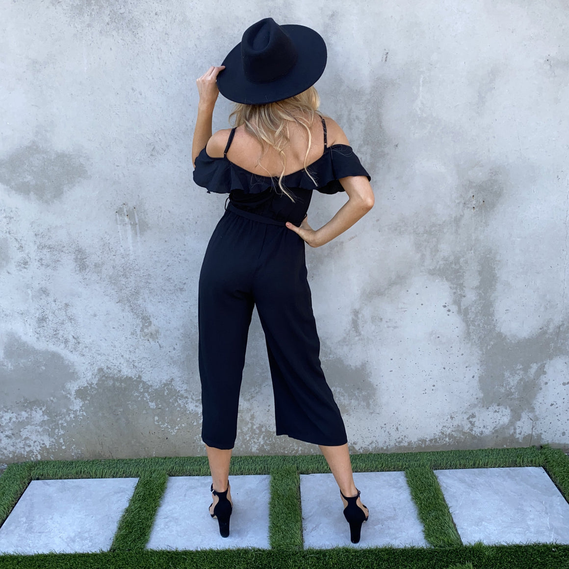 Make A Move Black Jumpsuit - Dainty Hooligan