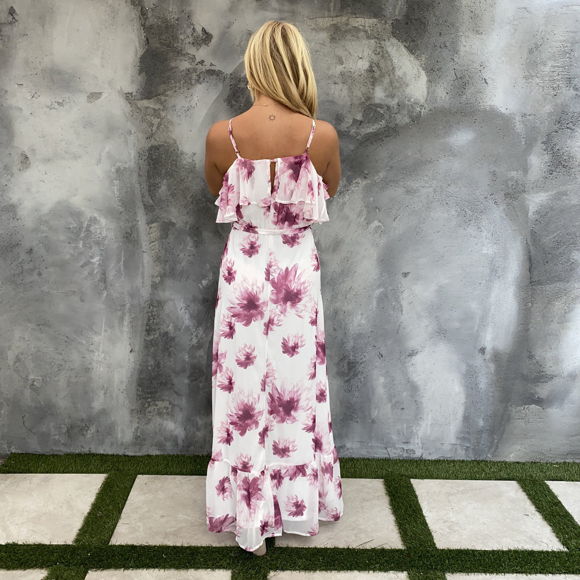 Forever Passionate Floral Maxi Dress