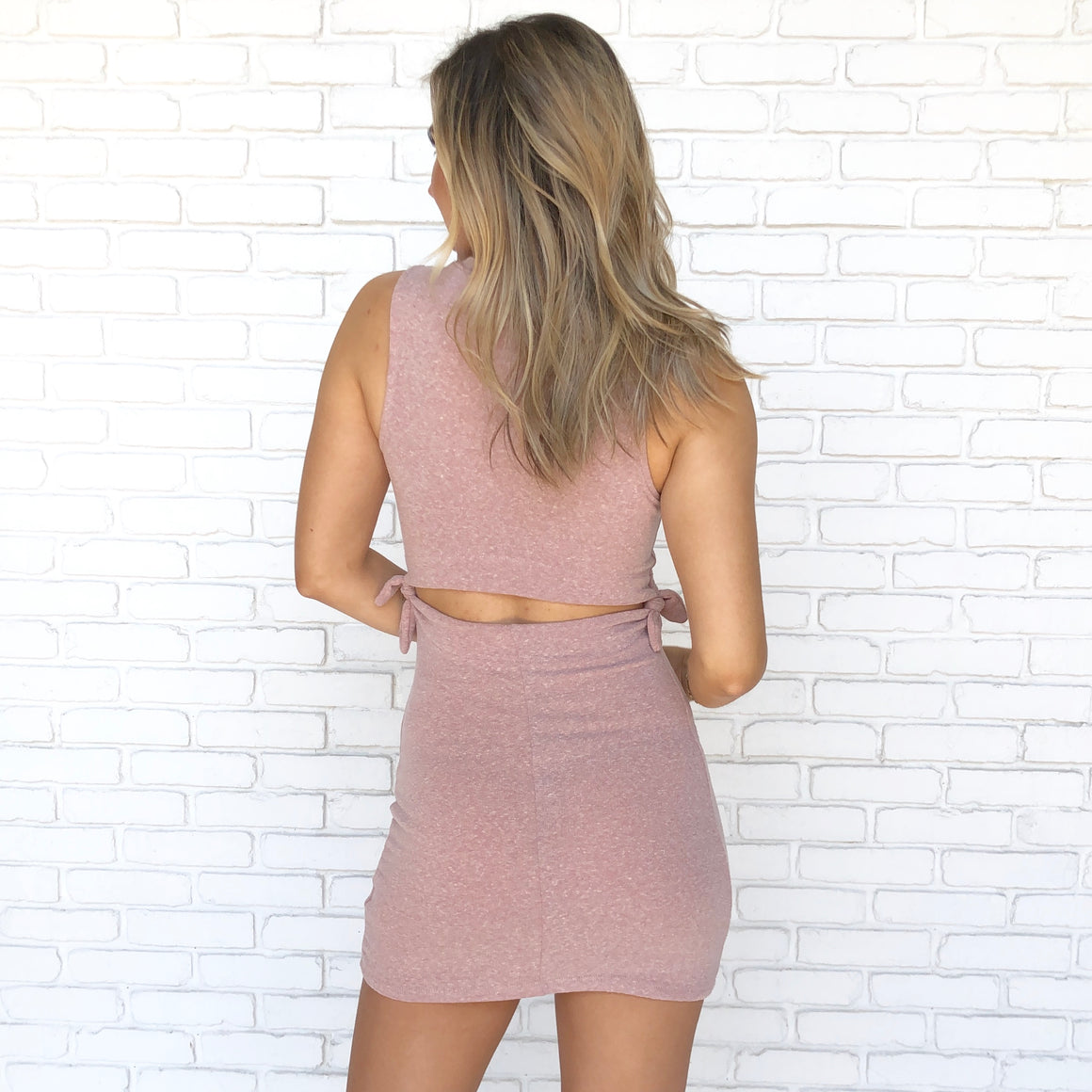 Pretty Woman Pink Bodycon Dress