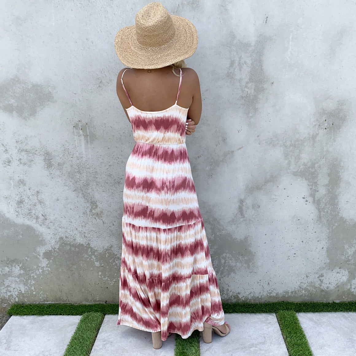 Beach Calling Tie Dye Maxi Dress