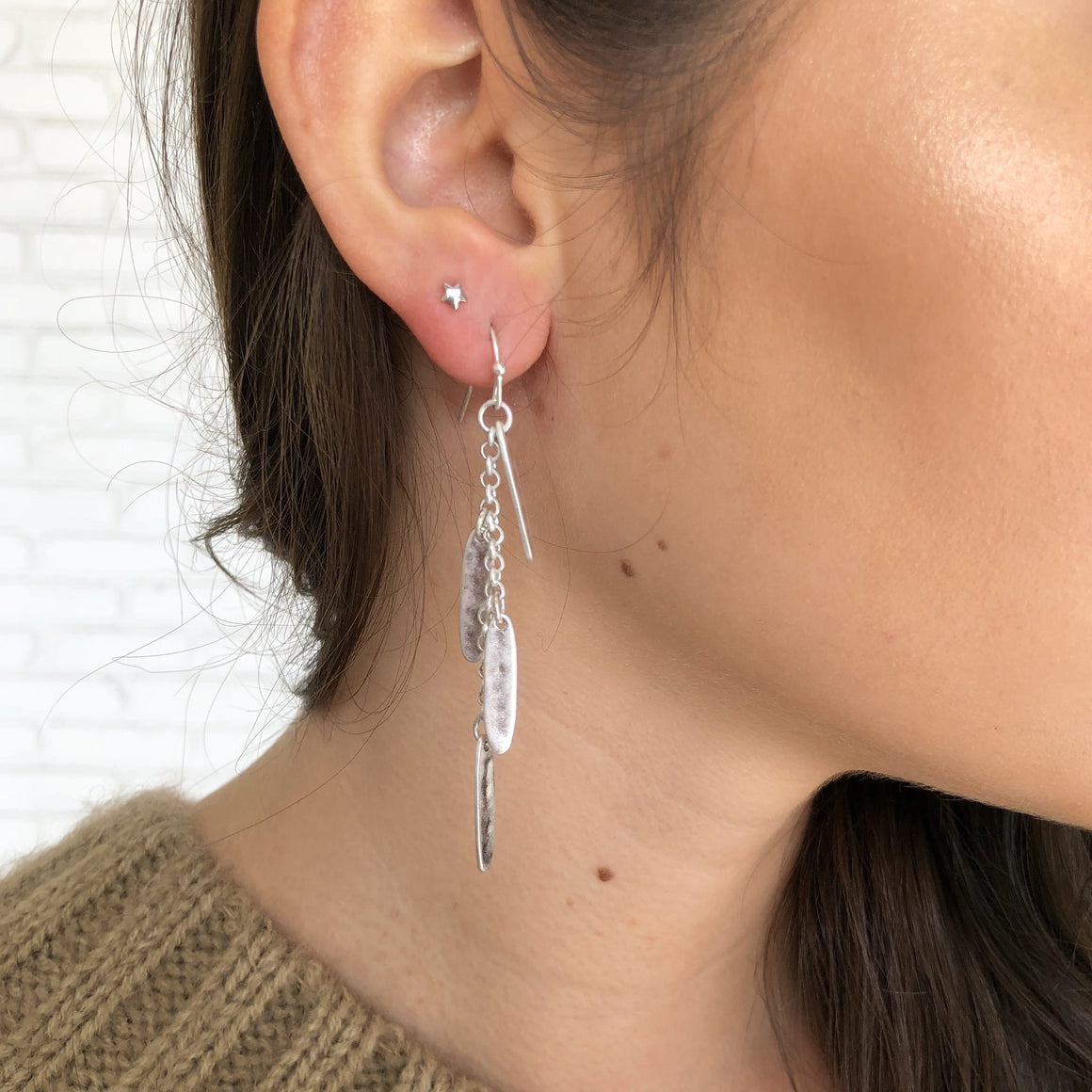 Charming Chime Earrings in Silver - Dainty Hooligan
