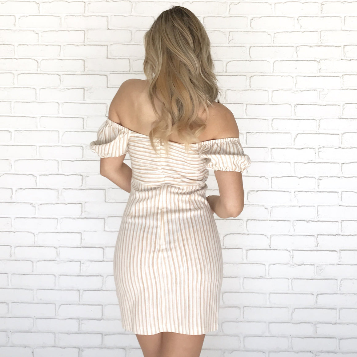 Knotted Mini Dress
