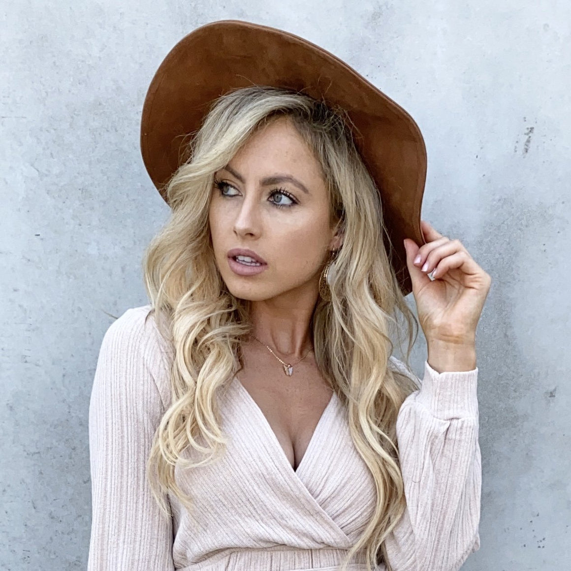 Love Of All Suede Camel Brown Hat - Dainty Hooligan