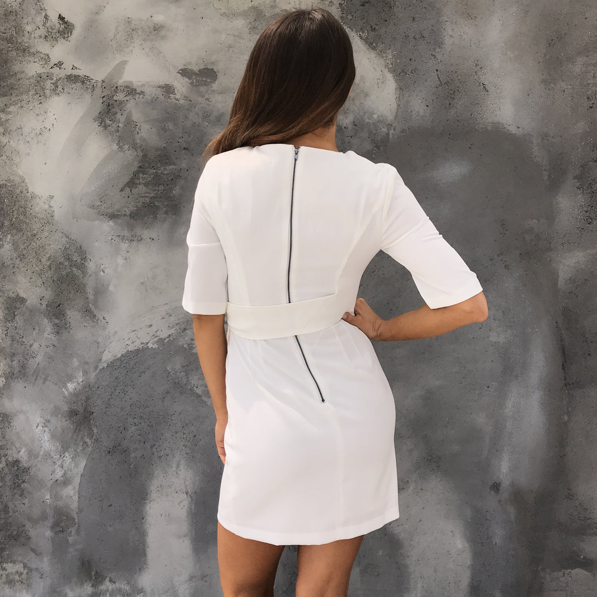 Be In Love Dress in White - Dainty Hooligan