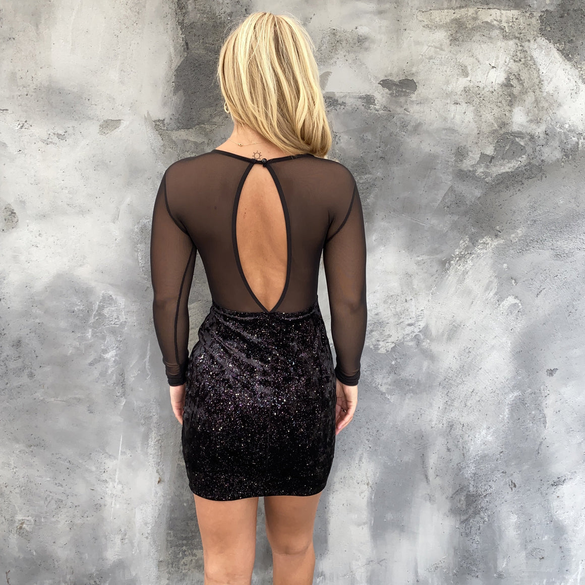 A Spark Of Magic Bodycon Party Dress