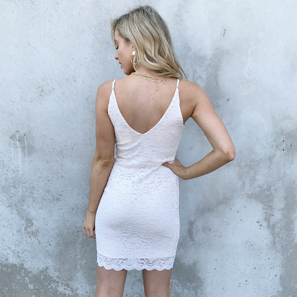 Loving Lace Ivory Dress - Dainty Hooligan