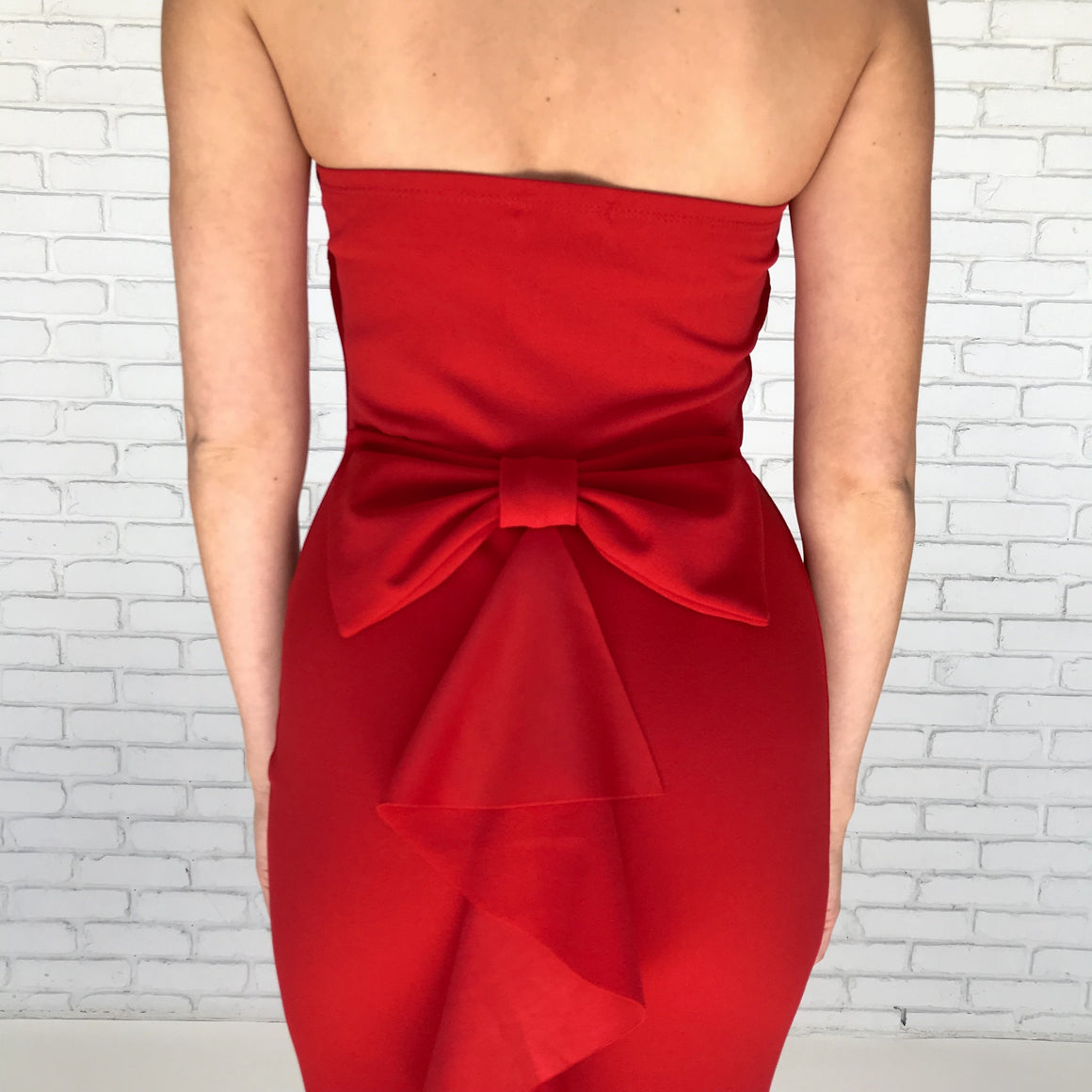 Perfect Opportunity Red Ruffle Maxi - Dainty Hooligan