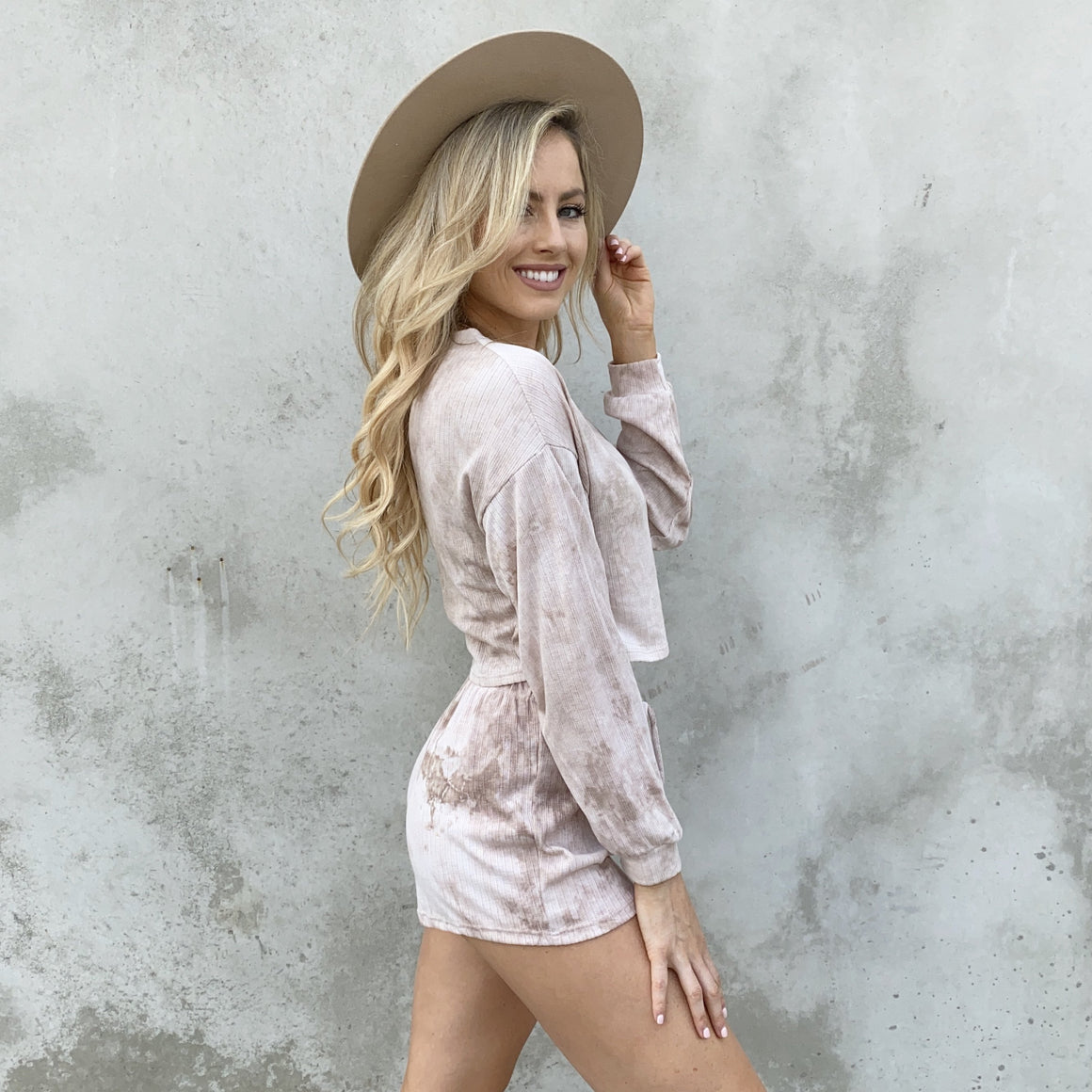 Lazy Days Tie-Dye Shorts & Top Set - Dainty Hooligan