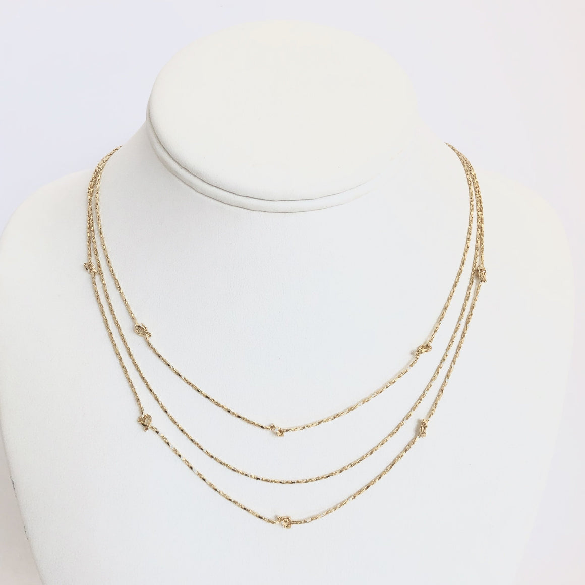 Remi Triple Layered Gold Necklace