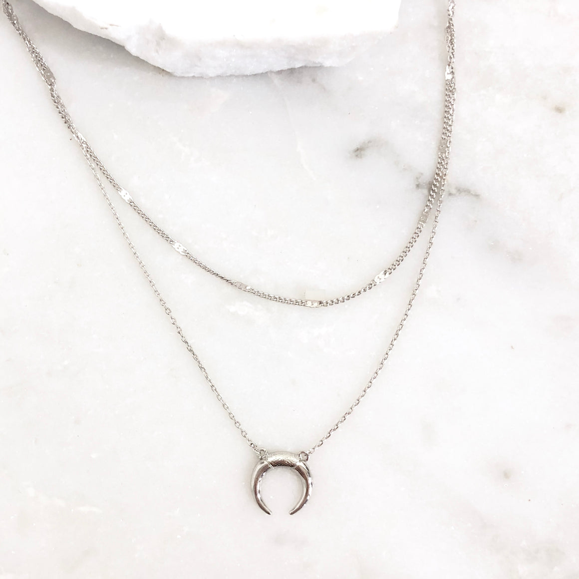 Bandit Silver Dainty Necklace