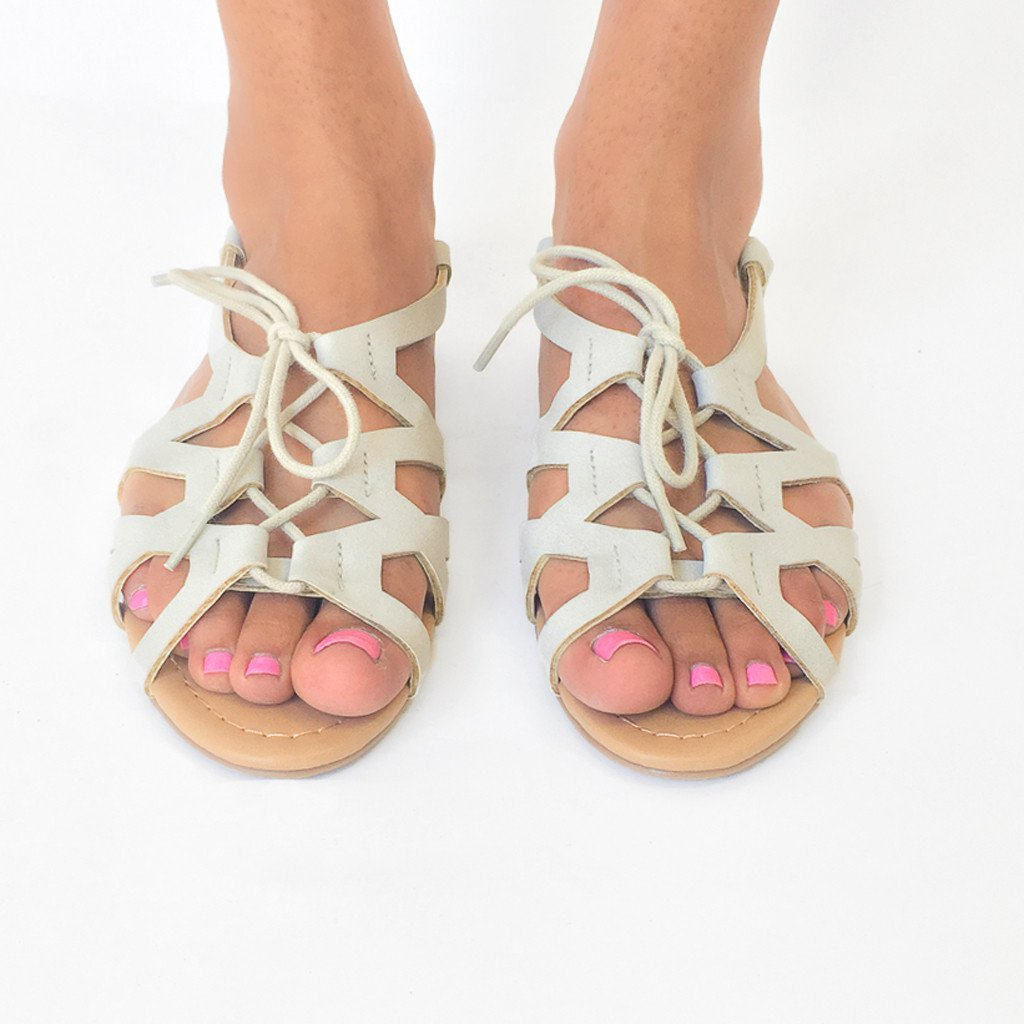 Island Hop Sandals in Grey
